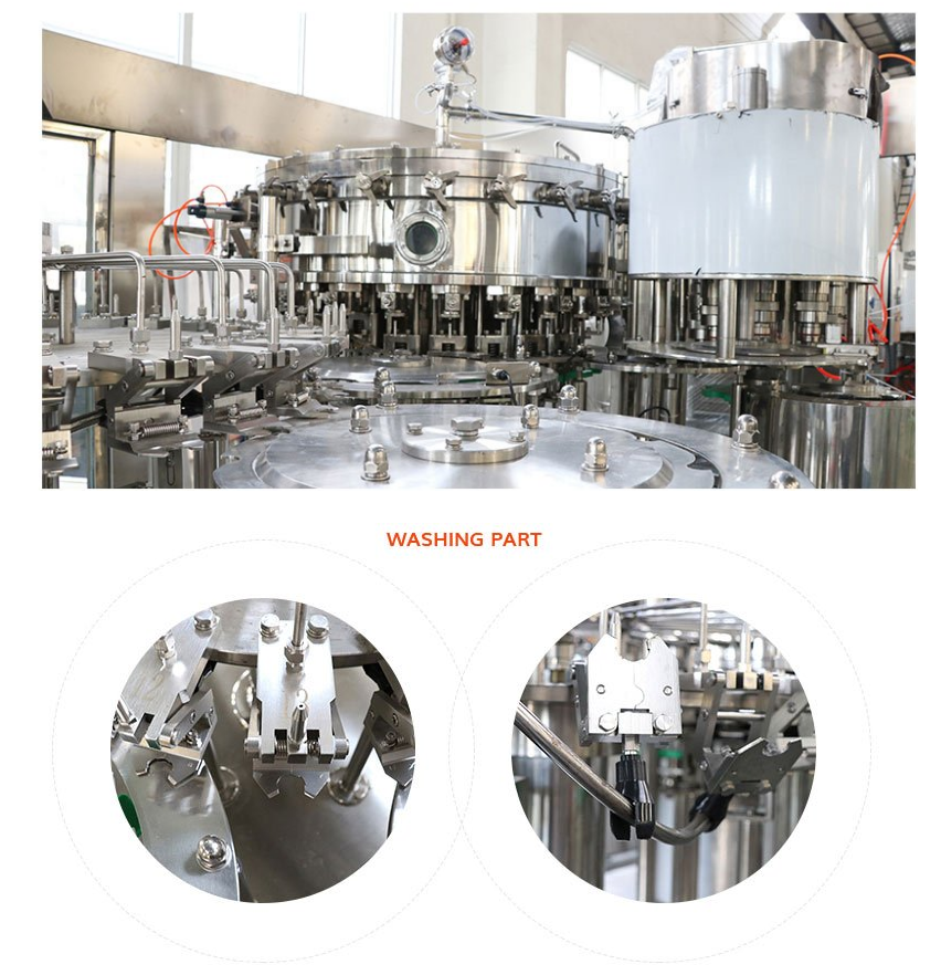 Carbonated Filling Machine